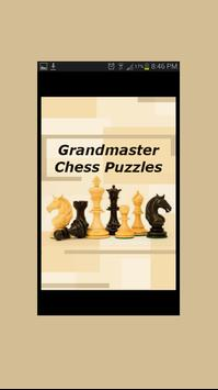 Grandmaster Chess Puzzles poster