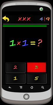 Multiplication Table:It's Easy screenshot 3