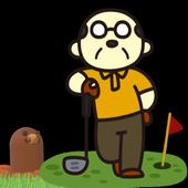 japanese regacy mole shooter game icon