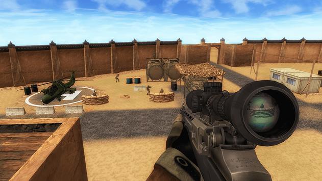 Silent Commando Sniper Strike 3D poster