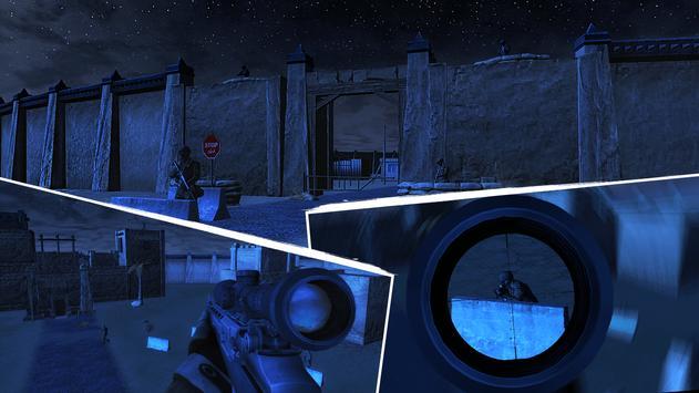 Silent Commando Sniper Strike 3D apk screenshot