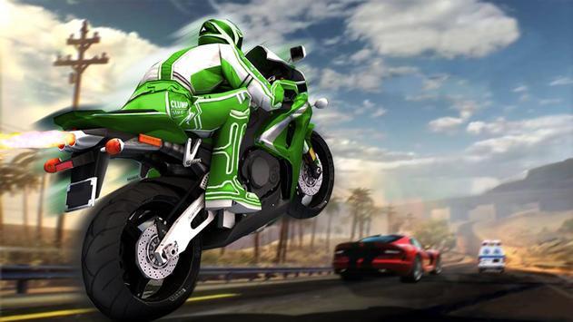 City Traffic Super Bike Racer 2017 poster