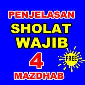 Bab Sholat Wajib Menurut 4 Imam Mazhab icon