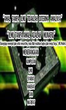 Bab Sholat Wajib Menurut 4 Imam Mazhab poster