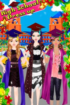 High School Dress Up Games poster