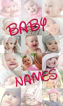 Baby Names poster