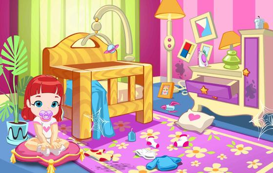 Rainbow Room : Baby Ruby Cleaning House poster