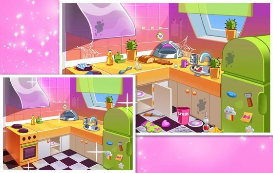 Rainbow Room : Baby Ruby Cleaning House screenshot 2