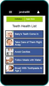 BABY TEETH CARE screenshot 2