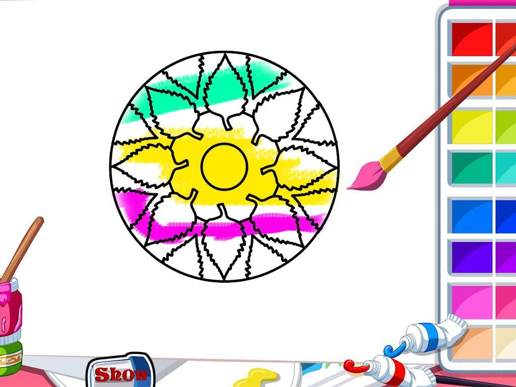 Color Me Mandala Coloring Book For Android Apk Download