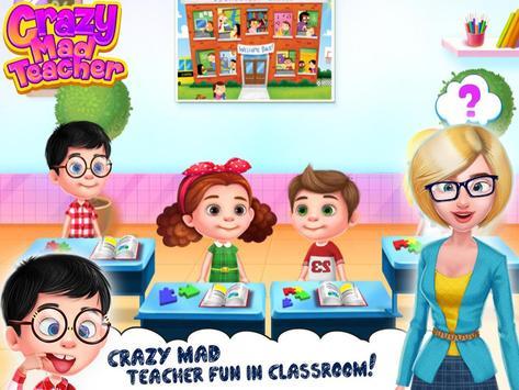 Crazy Mad Teacher screenshot 1