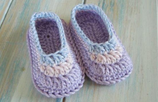 Baby Booties Crochet screenshot 2