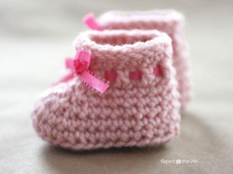 Baby Booties Crochet screenshot 4