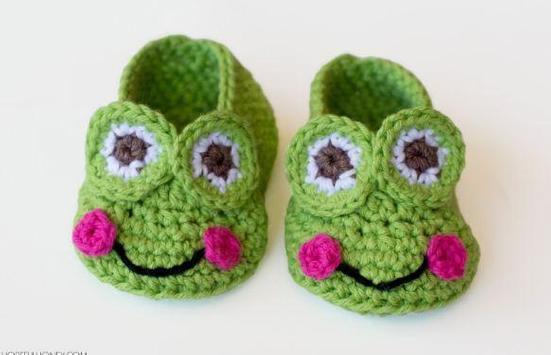 Baby Booties Crochet screenshot 5