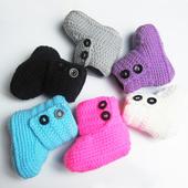 Crochet Baby Boots icon