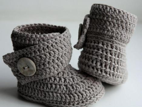 Crochet Baby Boots poster