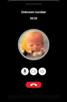 Call form Vid Baby Boss Prank screenshot 2