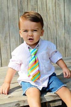 Baby Boy Hair Style for Men 2018 تصوير الشاشة 9