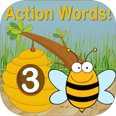 Action Words!™ 3  Flashcards icon