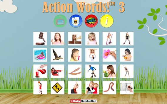 Action Words!™ 3  Flashcards poster