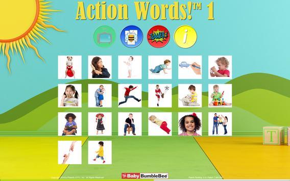 Action Words!™ 1  Flashcards apk screenshot