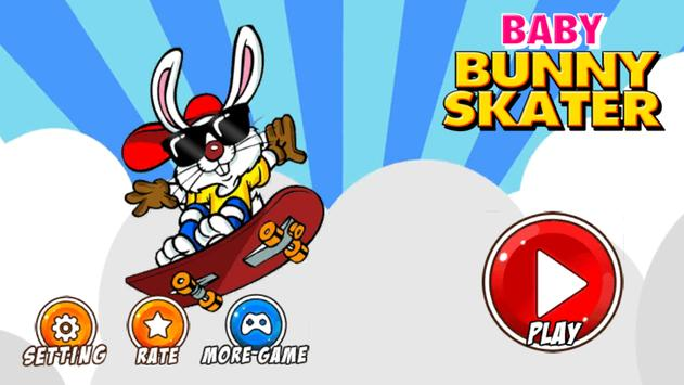 Baby Bunny Skater screenshot 1