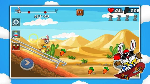 Baby Bunny Skater screenshot 3