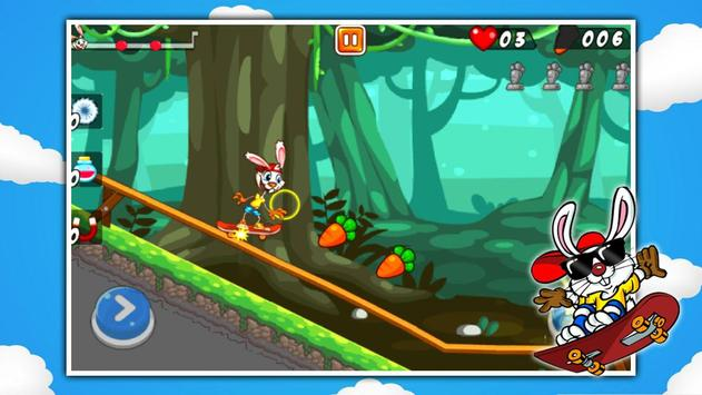 Baby Bunny Skater screenshot 5