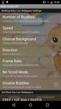 Walking Baby Live Wallpaper apk screenshot