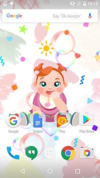 Color Baby Live Wallpaper apk screenshot