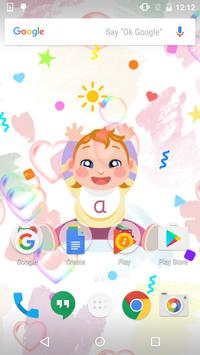 Color Baby Live Wallpaper poster