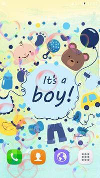 Doodle Baby Live Wallpaper apk screenshot