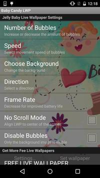Jelly Baby Live Wallpaper apk screenshot