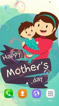 Love Mom Baby Live Wallpaper poster