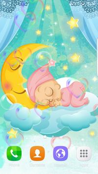 Baby Love Sleep Live Wallpaper poster