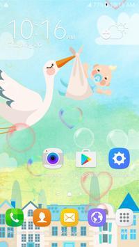 Messenger Baby Live Wallpaper poster