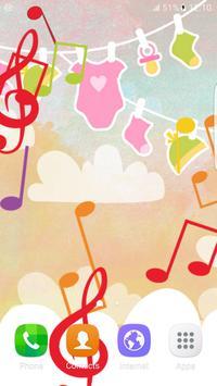Music Baby Beat Live Wallpaper apk screenshot