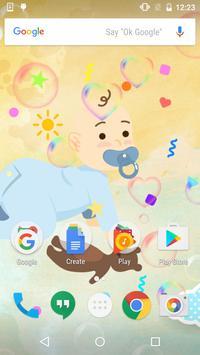 Newborn Baby Live Wallpaper apk screenshot