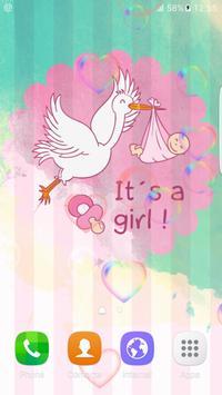 Sweet Baby Girl Live Wallpaper apk screenshot