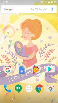 My New Baby Live Wallpaper poster