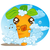 Baby Carrot Sticker Pack icon