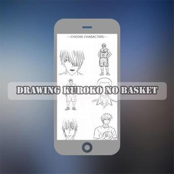 How To Draw Kuro Basket Characters screenshot 3