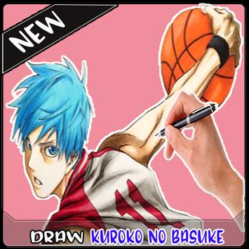 How To Draw Kuro Basket Characters screenshot 4
