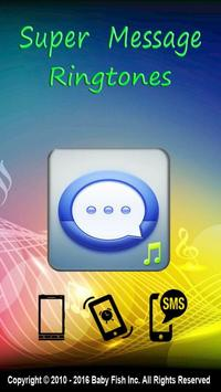 Super Message Ringtones poster