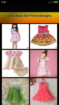 Cute Baby Girl Frock Designs poster
