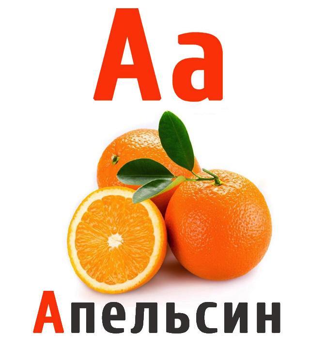 независимых азбука фрукты с картинками головань