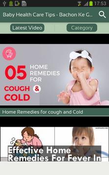 Baby Health Care Tips - Bachon Ke Gharelu Upchar screenshot 1