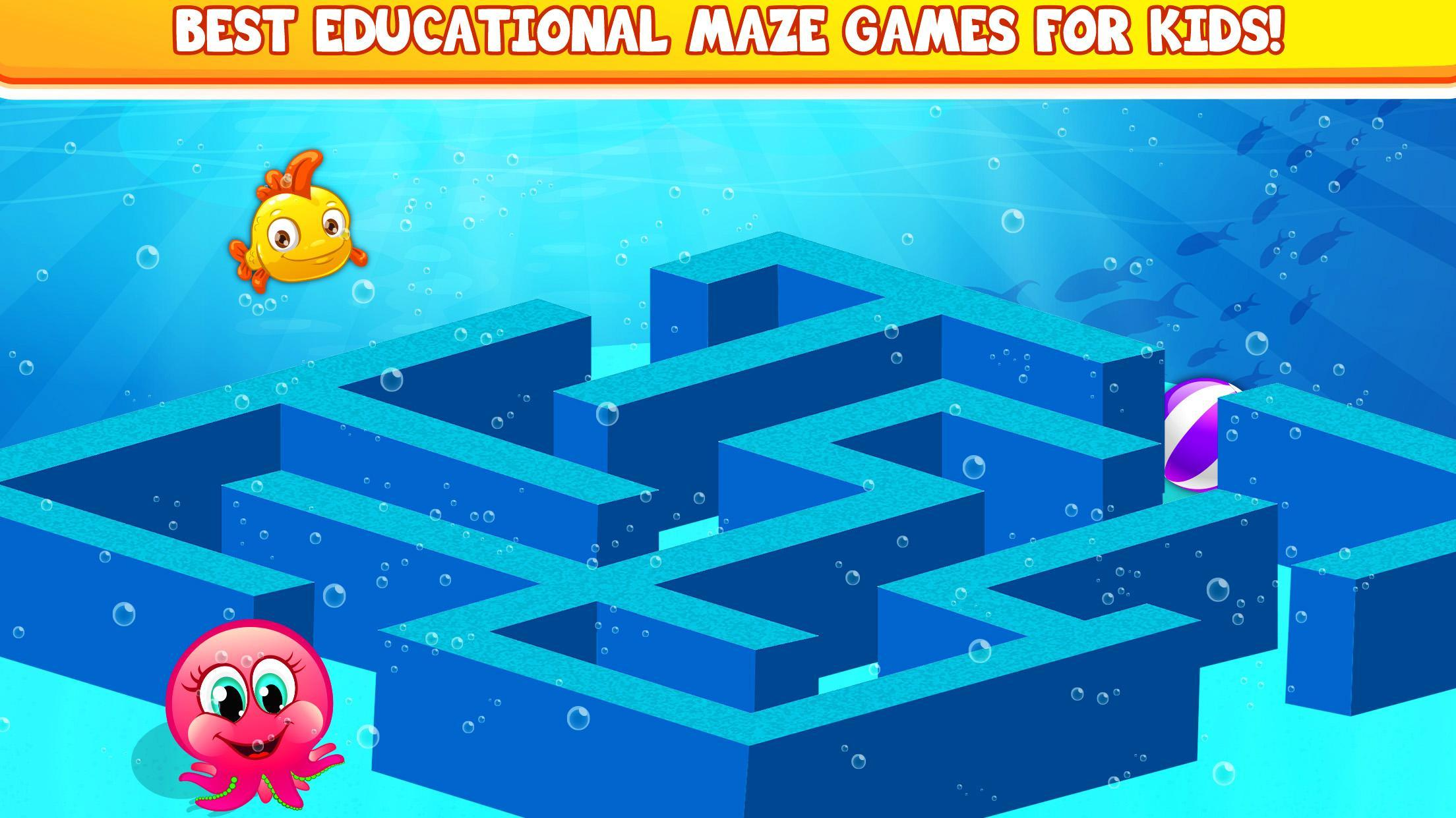 Kids Mazes Educational Game Puzzle World For Android Apk Download