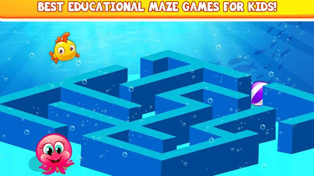 Kids Mazes : Educational Game Puzzle World for Android - APK