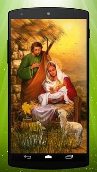 Baby Jesus Live Wallpaper Poster